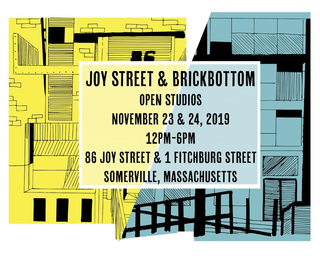 Postcard: Brickbottom & Joy Street Open Studios postcard