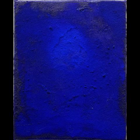 Mark DesLauriers   -   Little Yves   -    acrylic on canvas   -    $250