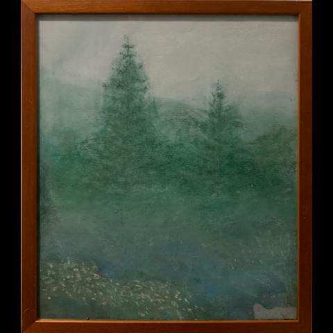 Joan Elias   -   Blue Fog   -   pastel   -   NFS