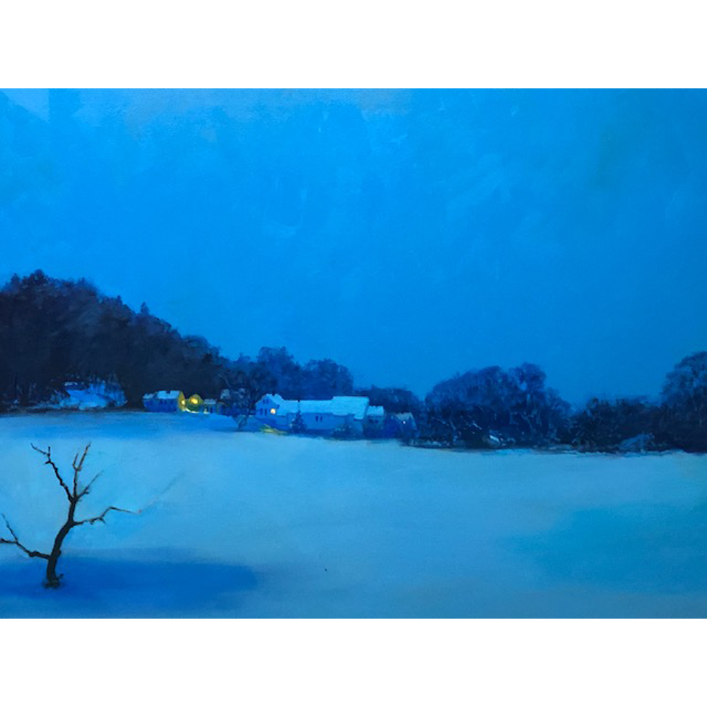Will Kirkpatrick   -   Winter Nocturne   -   oil on canvas