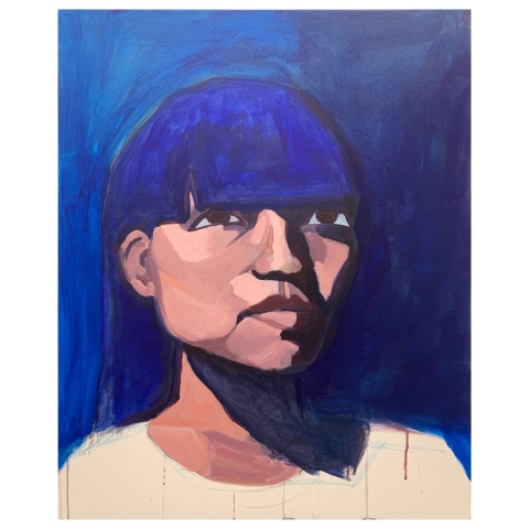 Jessica Meuse   -   Partially in Shadow   -   acrylic   -   NFS