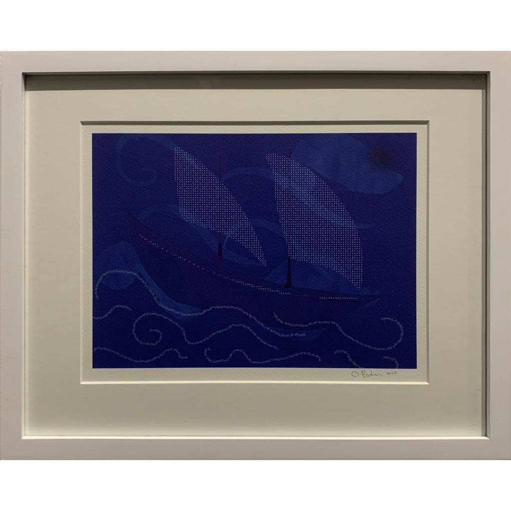 Martha Podren   -   Ghost Ship (y)   -   digital print   -   $122