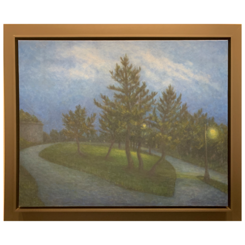 Martha Stone   -   Twilight in June   -   oil on canvas   -   $4000