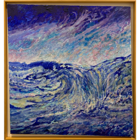 Arnon Vered   -   Storm Surge   -   mixed media   -   $1500