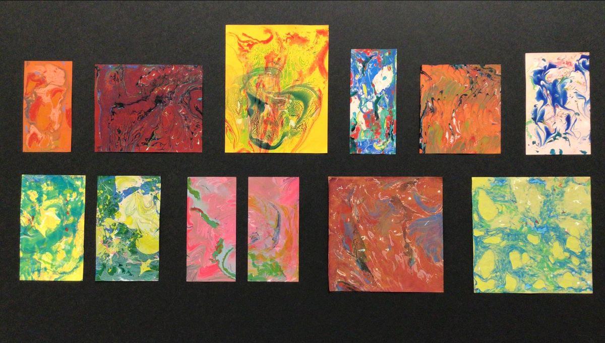 Marbled Prints, Tracy Munn