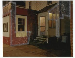 Matt Williams  -  Untitled (Fast Phil's)  -  ink jet print, color xerox, scotch tape  -  20 x 24  -  $1,000