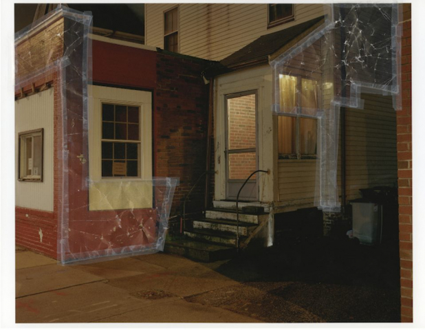 Matt Williams  -  Untitled (Fast Phil's)  -  ink jet print, color xerox, scotch tape  -  20 x 24  -  $1,000