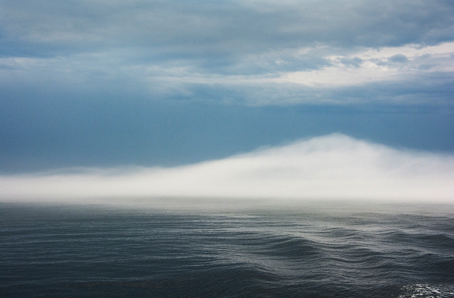 Parrish Dobson  -  White Fog Hills  -  photography  -  20 x 30