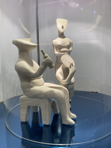 Daniela DesLauriers  -  Cycladic Family at Home  -  Porcelain  -  variable  -  NFS