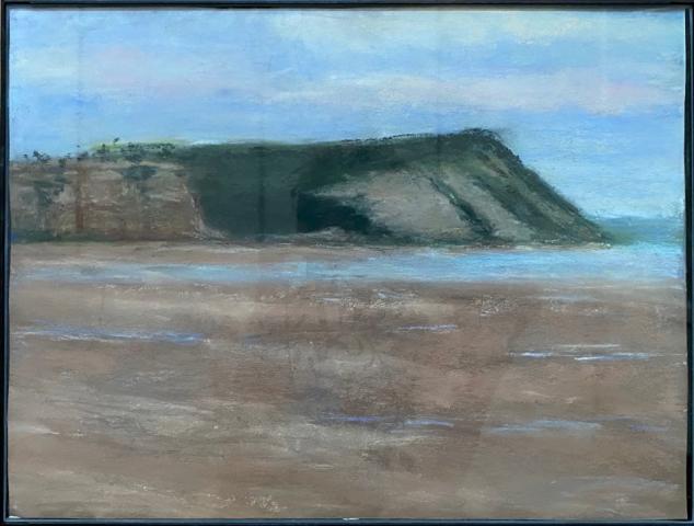 Joan Elias  -  Nova Scotia Tidal Pools  -  pastel  -  NFS