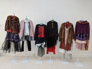 Kimberly Becker  -  Intersectional Feminism, Installation  -  10' wide
